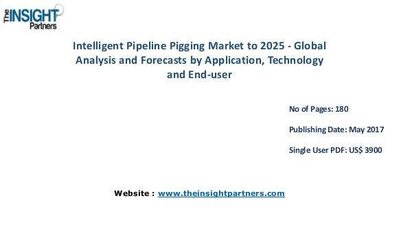 Intelligent Pipeline Pigging Market Analysis Intelligent Pipeline Pigging Market to 2025