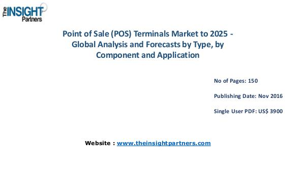 Point of Sale (POS) Terminals Market Outlook 2025 |The Insight Partne Point of Sale (POS) Terminals Market Outlook 2025
