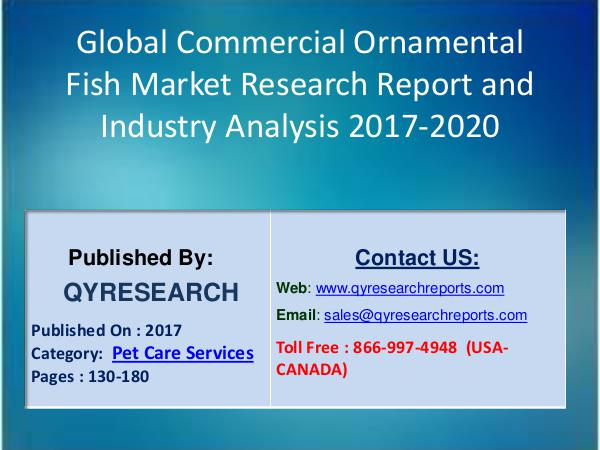 Global Commercial Ornamental Fish Industry