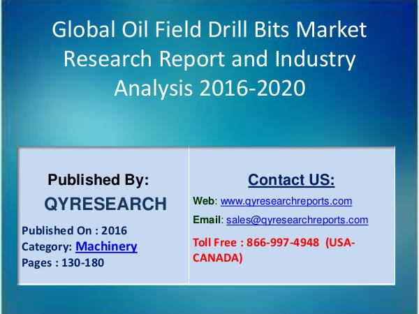 Global Oil Field Drill Bits Production and Share