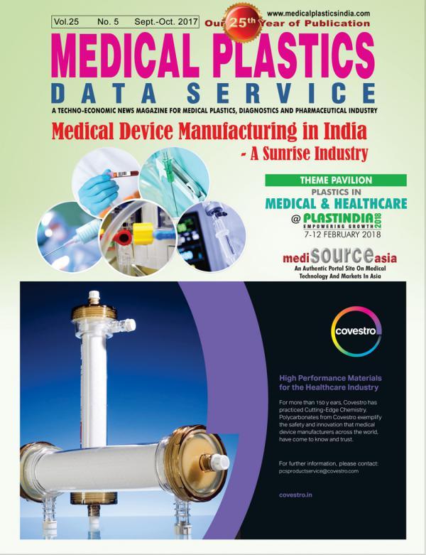 Medical Plastics Data Service, Medical Plastics News mpds_september_october_2017