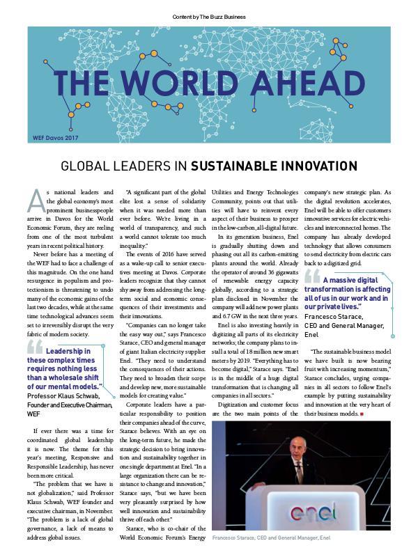 The World Ahead Buzz Innovation series - edition 5