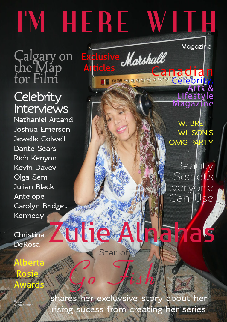 I'm Here With Magazine Issue 1