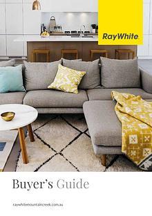 Ray White Mountain Creek Buyers Guide 2018