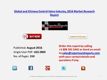 Control Valve Market 2016 Global and Chinese Industry Scenario 2021 Aug 2016