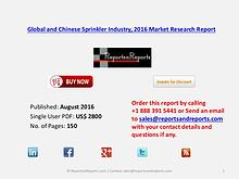 Sprinkler Market 2016 Global and Chinese Industry Scenario 2021