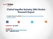 Impeller Market 2016 Investment Feasibility and Return Analysis