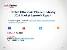 Global Ultrasonic Cleaner Market 2016 Analysis of Key Manufacturers