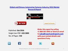 Automotive Cameras Market 2016 Global and Chinese Industry Scenario