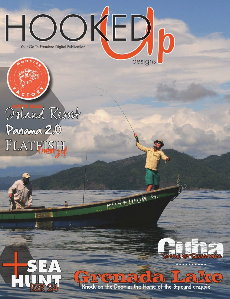 Hooked Up Designs Magazine May/June 2017
