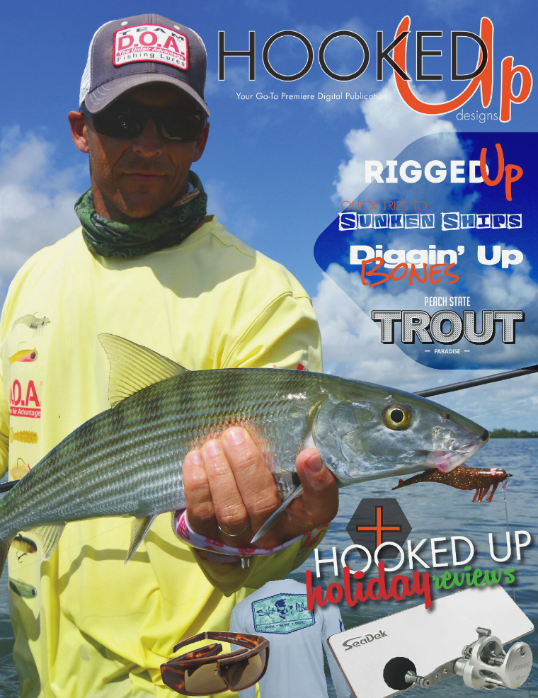 Hooked Up Designs Magazine December 2016