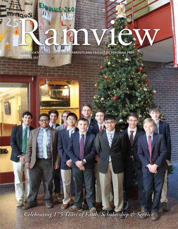 Fordham Preparatory School - Ramview Ramview WINTER 17