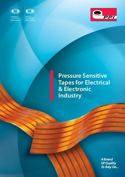 Masking tapes for electronics and electrical industry Jun. 2016