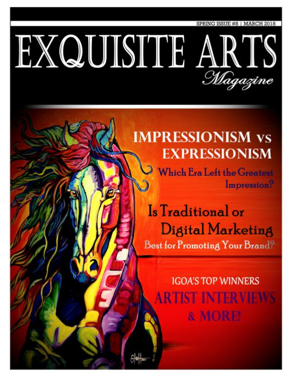 Exquisite Arts Magazine Vol 8- Spring Issue