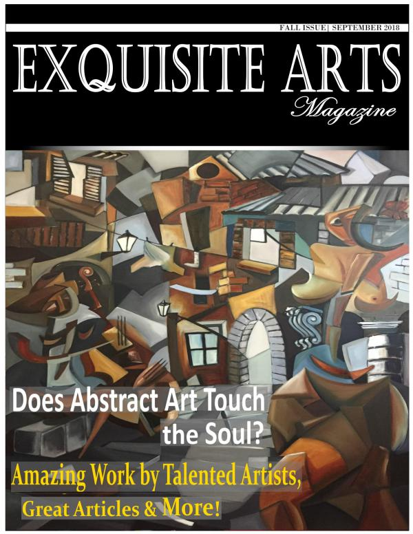 Exquisite Arts Magazine Vol 9- Fall Issue 2018