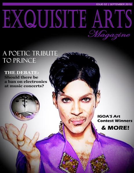 Exquisite Arts Magazine Vol 2- Sept/ Oct 2016