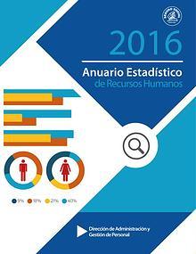 Anuario Estadístico en Recursos Humanos 2016
