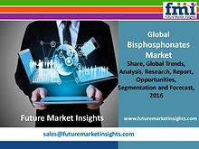 Bisphosphonates Market Value Share, Supply Demand 2016-2026