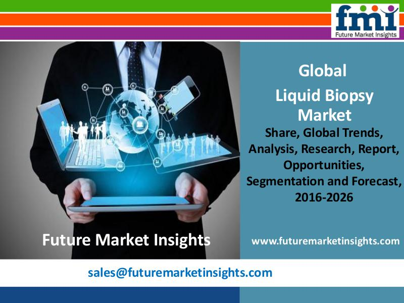 Liquid Biopsy Market to Grow at a CAGR of 21.7% by 2026 FMI