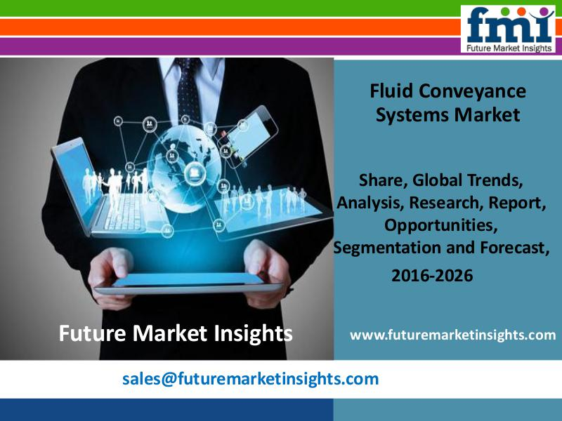 Fluid Conveyance Systems Market size in terms of volume and value 201 FMI