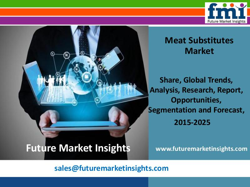 Market research Meat Substitutes Market Trends and Competitive Lan