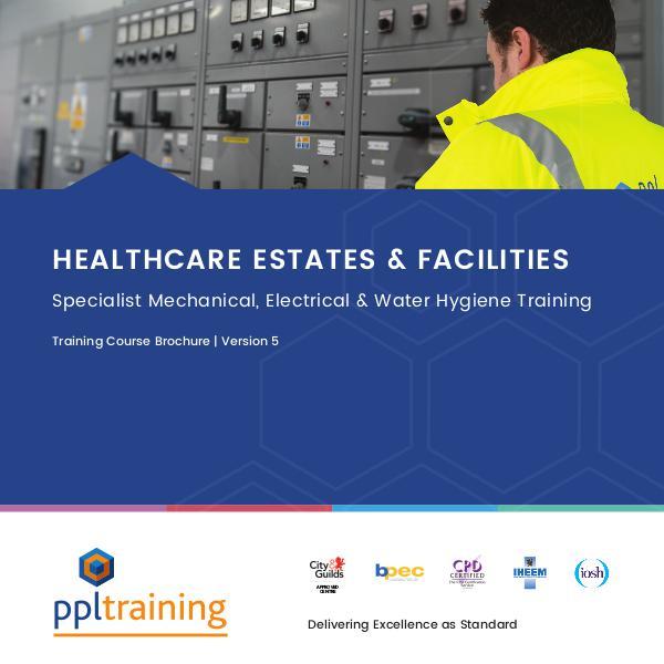 Healthcare Estates and Facilities Training Course Brochure Version 5
