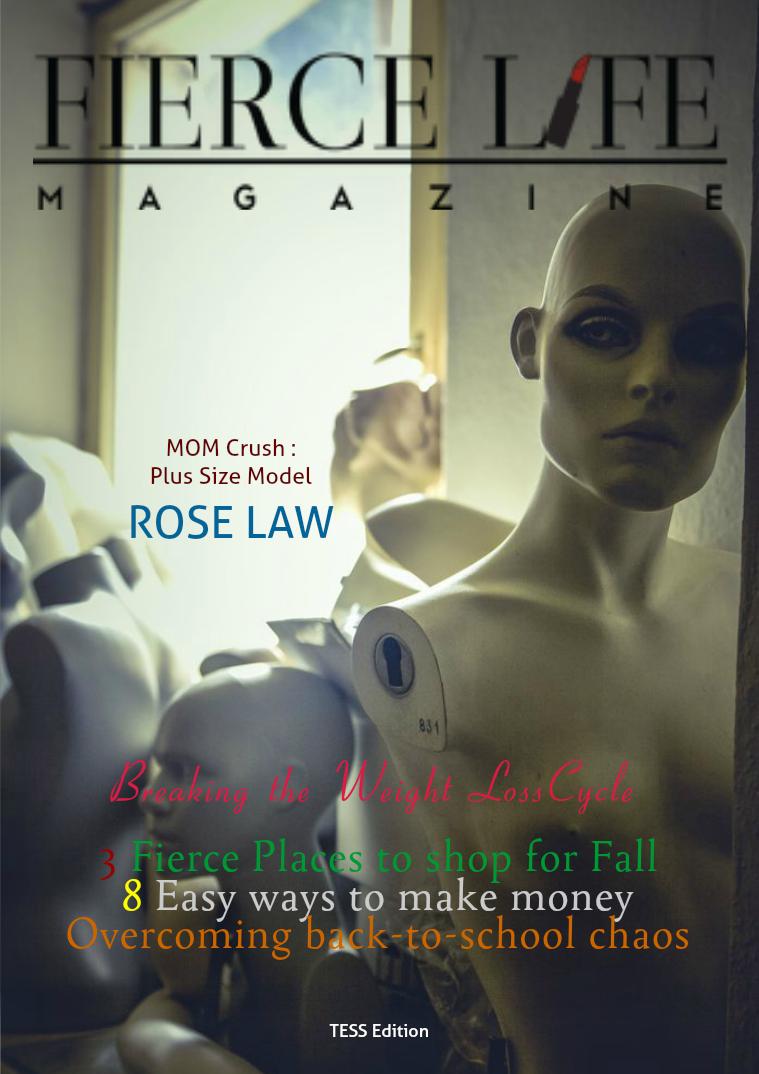FIERCE  LIFE MAGAZINE TESS EDITION