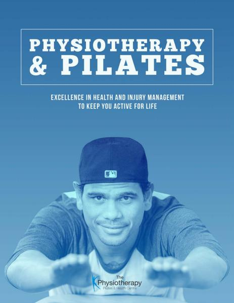 The Physiotherapy, Pilates and Health Centre Vol 1