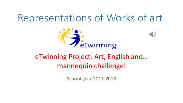 Art, English and ...mannequin challenge all works I & II term