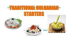 Traditional Bulgarian Starters
