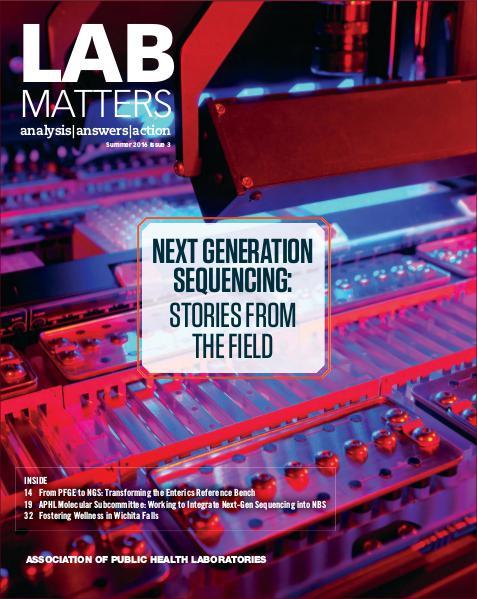 Lab Matters Summer 2016