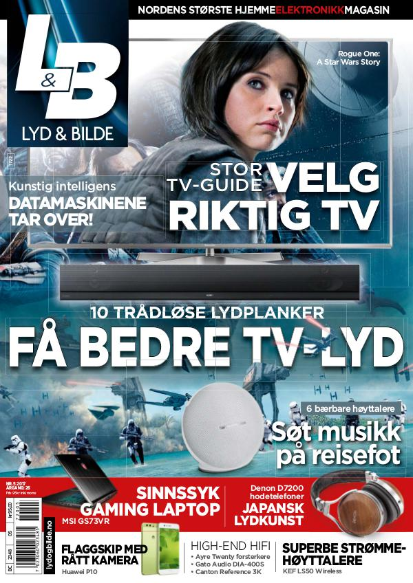 Lyd & Bilde May 2017