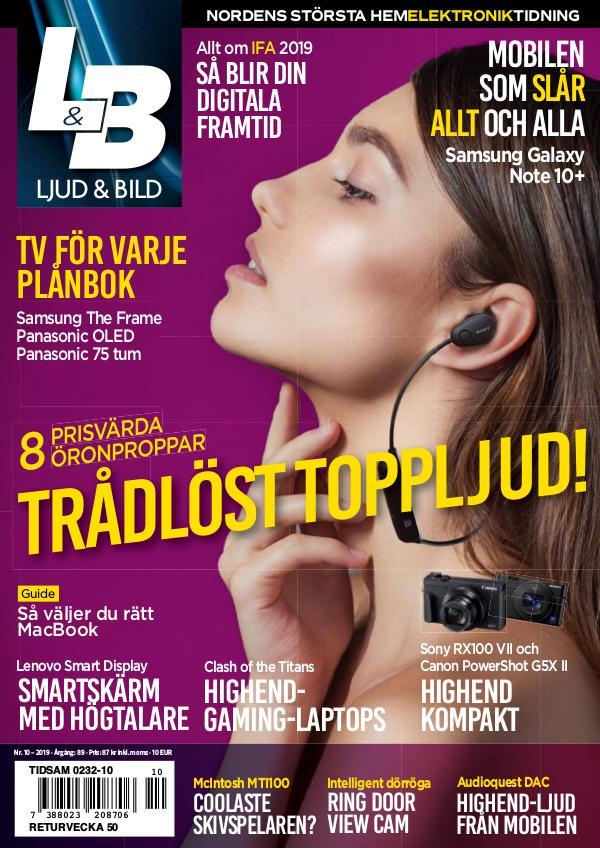 Ljud & Bild October 2019