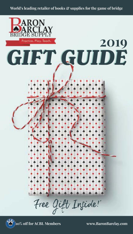 2019 Baron Barclay Gift Guide 2019 gift guide digital