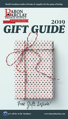 2019 Baron Barclay Gift Guide