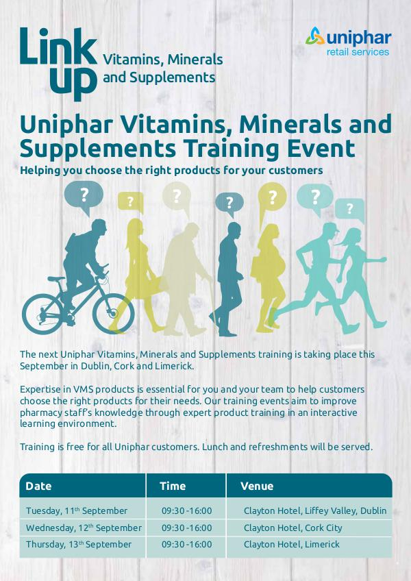 Flyers Uniphar VMS training September 2018