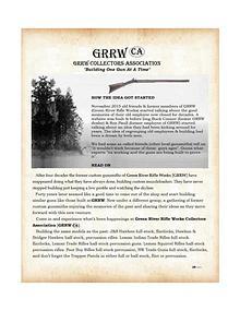 GRRW Collectors Association
