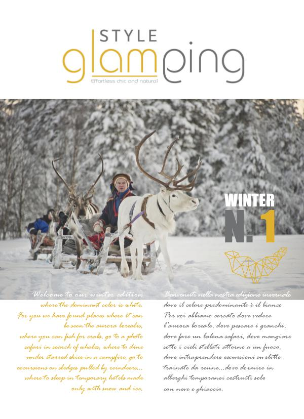 Style Glamping N.01 WINTER 2016-17