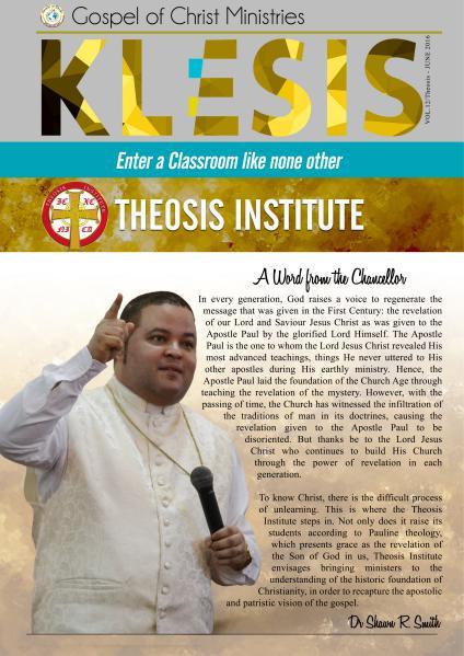 Klesis Newsletter Volume 12/June 2016