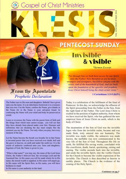 Klesis Newsletter Volume 10/May 2016