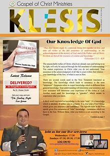 Klesis Newsletter