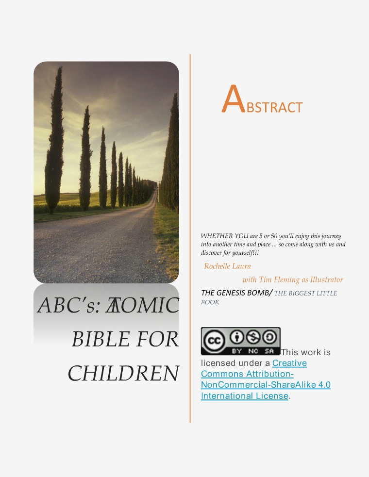 Abc's: Atomic Bible for Children 1
