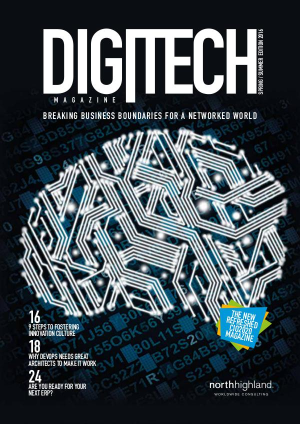 DigiTech Magazine - UK Summer / Spring 2016