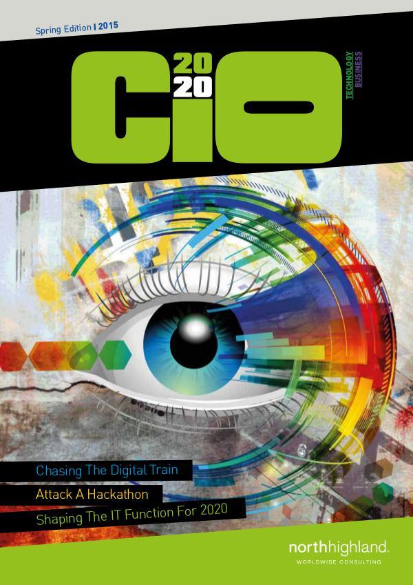 DigiTech Magazine - US CIO2020 - Spring 2015