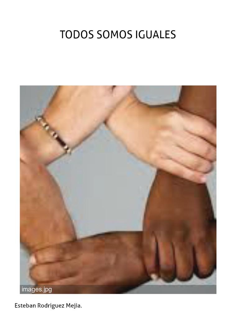 Borrador de mi proyecto Todos somos iguales