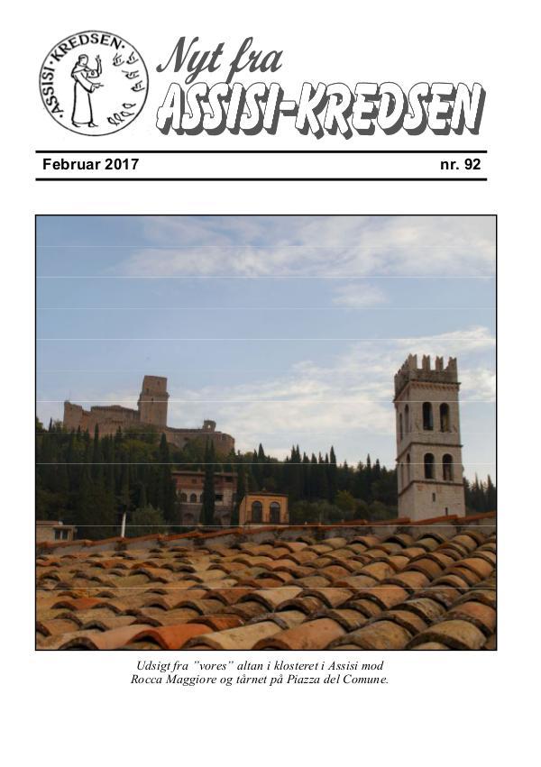 Nyt fra Assisi-Kredsen nr 92