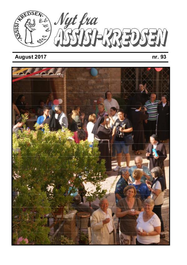 Nyt fra Assisi-Kredsen nr 93 august 2017