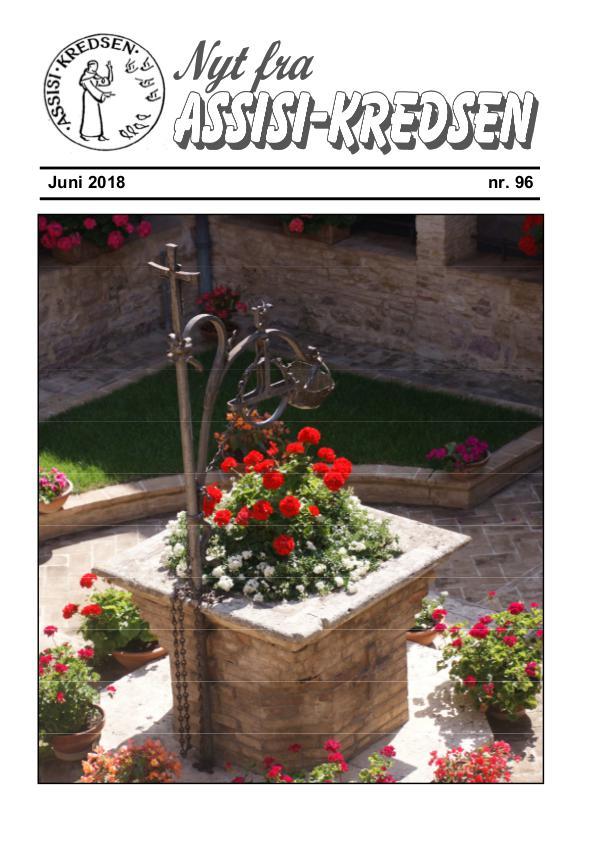 Nyt fra Assisi-Kredsen Nr 96 Juni 2018