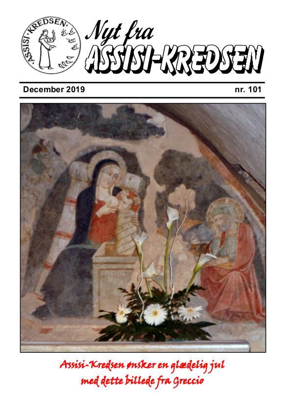 Nyt fra Assisi-Kredsen nr 101 december 2019
