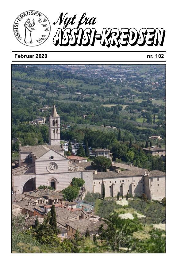 Nyt fra Assisi-Kredsen nr 102 - februar 2020